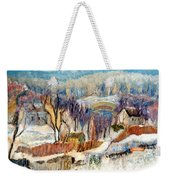 Winter Sunrise  Weekender Tote Bag