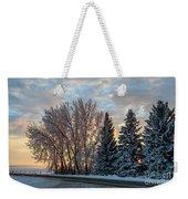 Winter Colors. Weekender Tote Bag