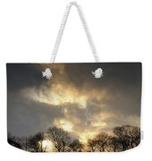 Winter Sunset, Trough Of Bowland, England Weekender Tote Bag