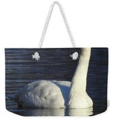 Winter Swan Weekender Tote Bag