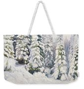 Winter Tale Weekender Tote Bag by Aleksandr Alekseevich Borisov
