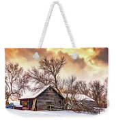 Winter Thoughts 2 - Paint Weekender Tote Bag