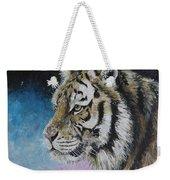 Winter Tiger Weekender Tote Bag