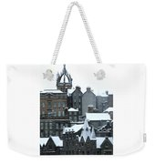 Winter Townscape Scotland Weekender Tote Bag