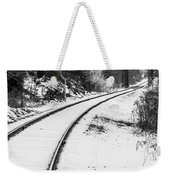 Winter Tracks Weekender Tote Bag