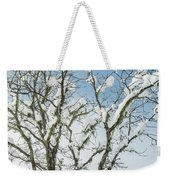 Winter Tree At Berry Summit Weekender Tote Bag