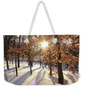 Winter Trees #1 Weekender Tote Bag
