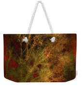 Winter Trees In Gold And Red Weekender Tote Bag