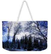 Winter Trees In Sweden Weekender Tote Bag