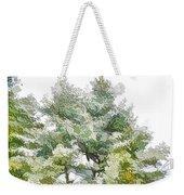 Winter Trees On Snow 1 Weekender Tote Bag