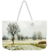 Winter Trees Weekender Tote Bag by Silvia Ganora