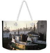 Winter Tugs Weekender Tote Bag