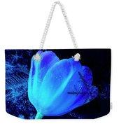 Winter Tulip Blue Theme 2 Weekender Tote Bag