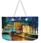 Winter Vibrations Weekender Tote Bag