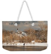 Winter View Of Allenstown Weekender Tote Bag