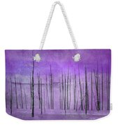 Winter Violet  7913violet Weekender Tote Bag
