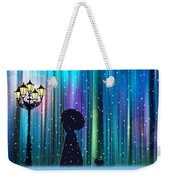 Winter Walk In The Magical Forest Weekender Tote Bag