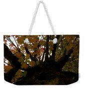 Winter Warning Weekender Tote Bag