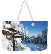 winter way in the Upper Harz Weekender Tote Bag