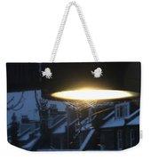 Winter Web Weekender Tote Bag