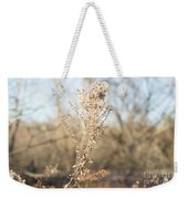 Winter Weeds Weekender Tote Bag