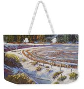 Winter Wheat Weekender Tote Bag