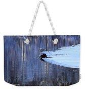 Winter Wildlife In New England Weekender Tote Bag