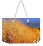 Winter Willows Weekender Tote Bag