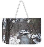 Winter Winding Down Weekender Tote Bag