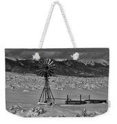 Winter Windmill Weekender Tote Bag