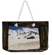Winter Window View Weekender Tote Bag