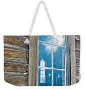 Winter Windows Weekender Tote Bag