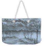 Winter With My Lover Weekender Tote Bag