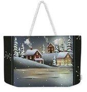 Winter Wonderland - Believe Weekender Tote Bag