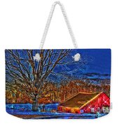 Winter Wonderland Hdr  Weekender Tote Bag
