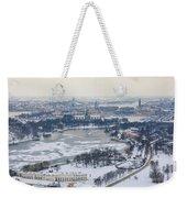 Winter Wonderland In Stockholm Weekender Tote Bag
