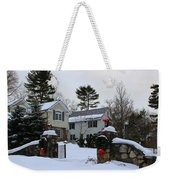 Home For Christmas Weekender Tote Bag