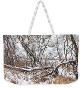 Winter Woods On A Stormy Day 2 Weekender Tote Bag