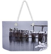 Winterized Weekender Tote Bag