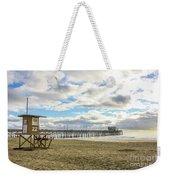 Winters Beach Weekender Tote Bag