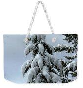 Winter's Burden Weekender Tote Bag