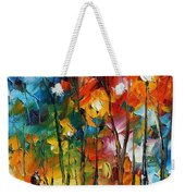 Winter's Chill Wind Weekender Tote Bag
