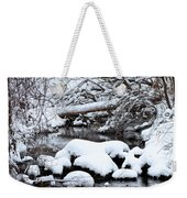 Winters Crossing Weekender Tote Bag