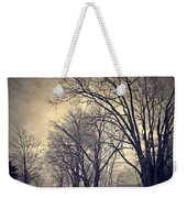 Winter's Dark Thoughts Weekender Tote Bag