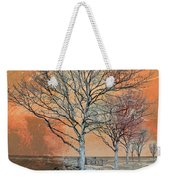 Winter's Dawn Weekender Tote Bag