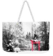 Winter's Entrance Weekender Tote Bag