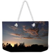Winters Evening Weekender Tote Bag