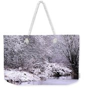 Winters First Icy Breath Weekender Tote Bag