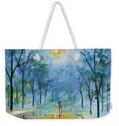 Winter's Fog Weekender Tote Bag