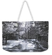 Winter's Gates Weekender Tote Bag